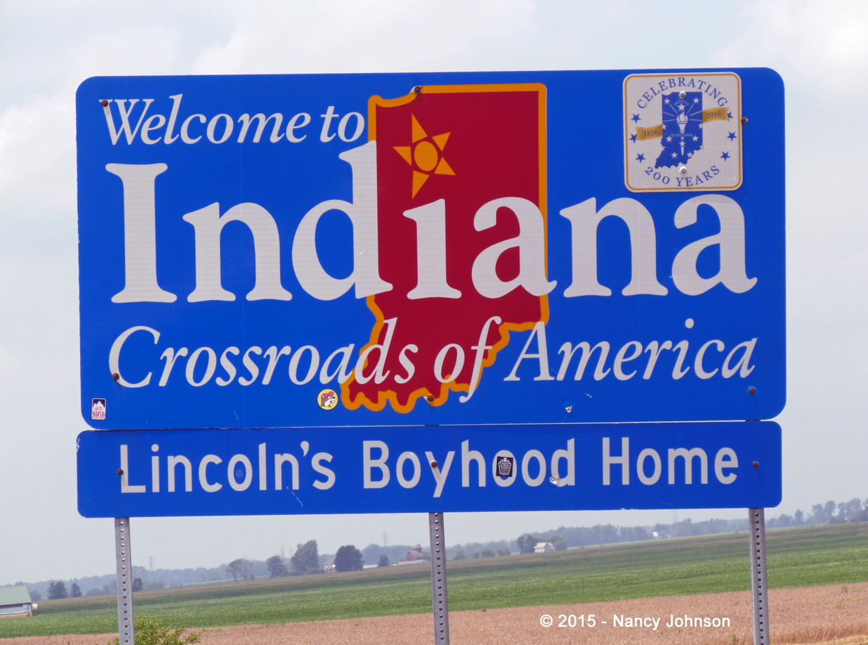 The photos in the indiana section are listed in alphabetical order by